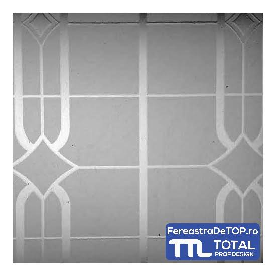 Geam decorativ Kilim sticla Saint Gobain - Total Prof Design - Fereastra de TOP