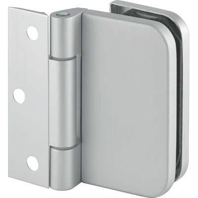 Balama inox ușă din sticla securizata - Total Prof Design - Fereastra de top