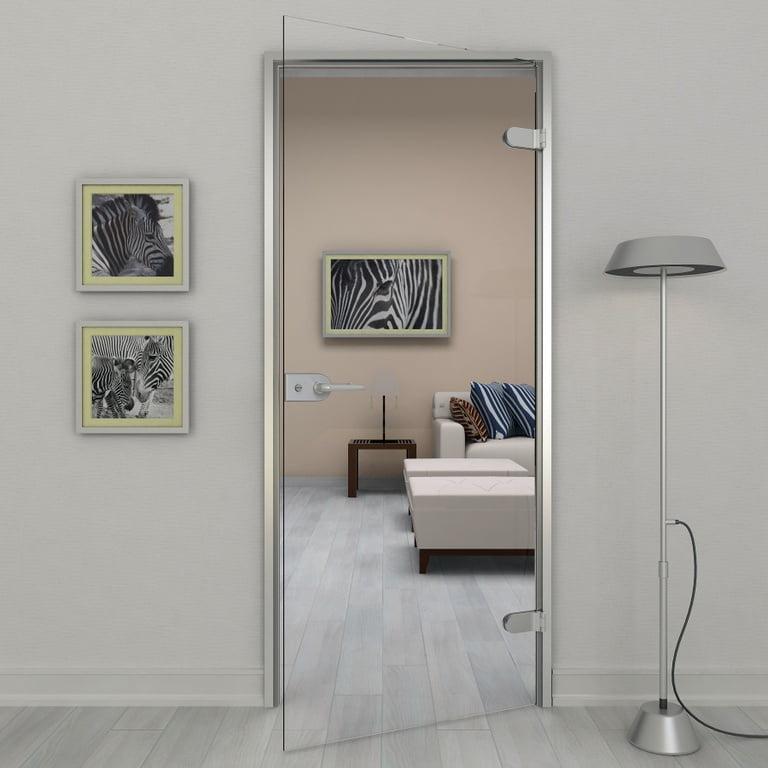 Usa din sticla securizata clara - Total Prof Design - Fereastra de top