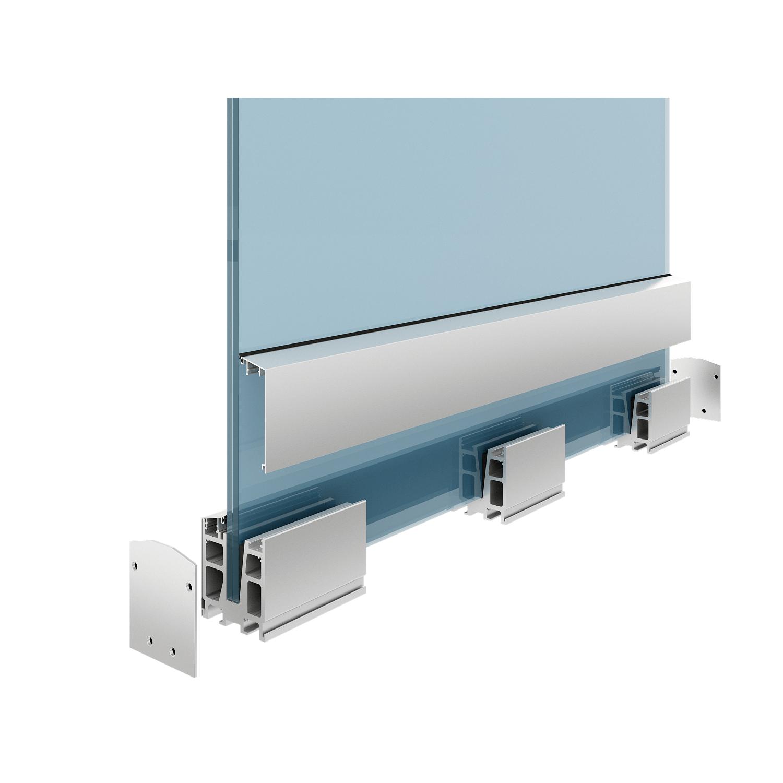 Balustrada sticla securizata Premium A300 - Fereastra de top - Total Prof Design