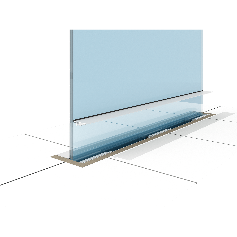 Balustrada sticla securizata Premium A400 - Fereastra de top - Total Prof Design